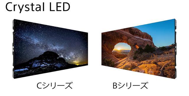 画像1: Crystal LEDの製品ラインナップ