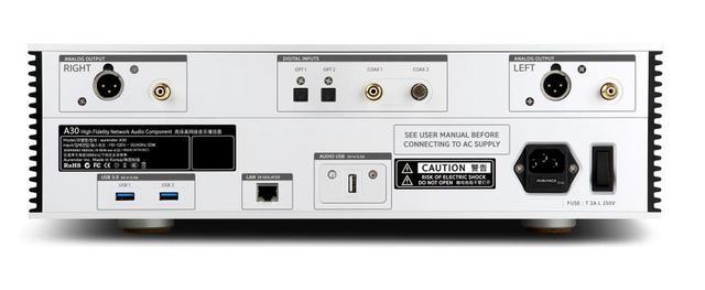 画像2: Aurender、アナログ出力端子搭載のデジタルミュージックプレーヤーのフラッグシップモデル「A30」を1月29日に発売。価格は216万8000円!