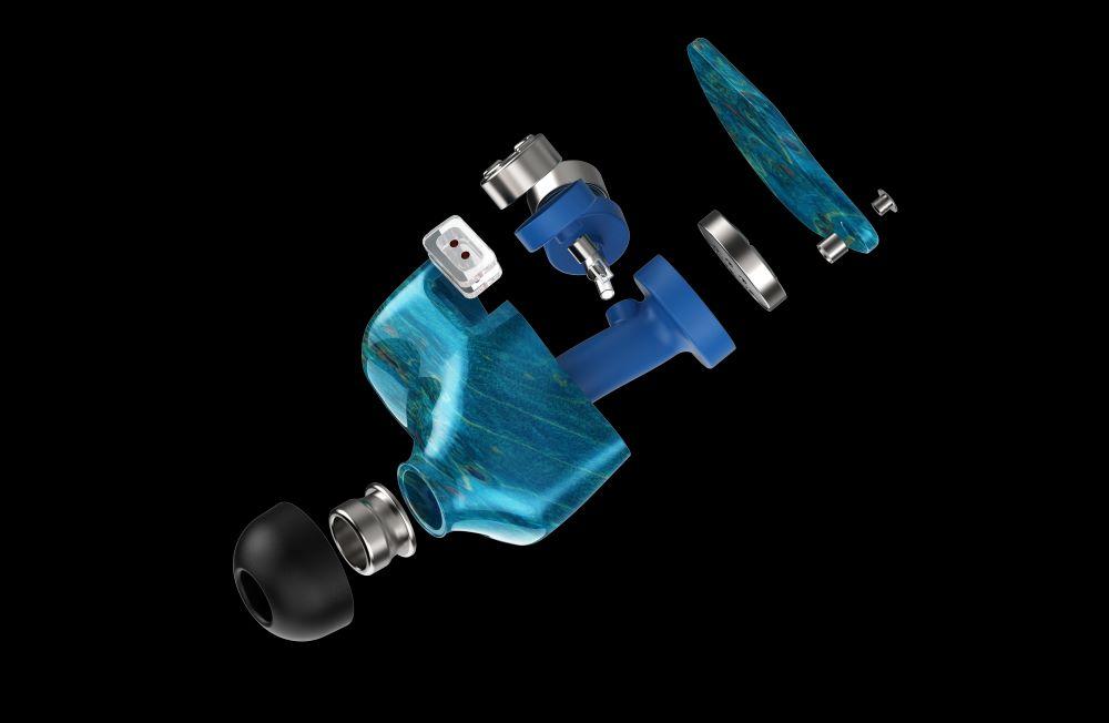 画像2: Unique Melody、3ダイナミックドライバーを搭載した、木材ハウジングのユニバーサルIEM「3D Terminator」を1月29日に発売