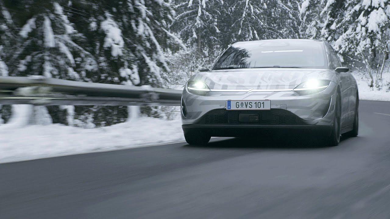 画像: VISION-S | Public Road Testing in Europe www.youtube.com