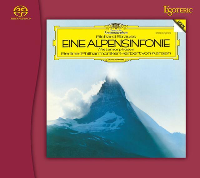 画像: R. シュトラウス:アルプス交響曲&変容 (SACD/CDハイブリッド)ESSG-90240 ※3月10日頃より順次発送予定