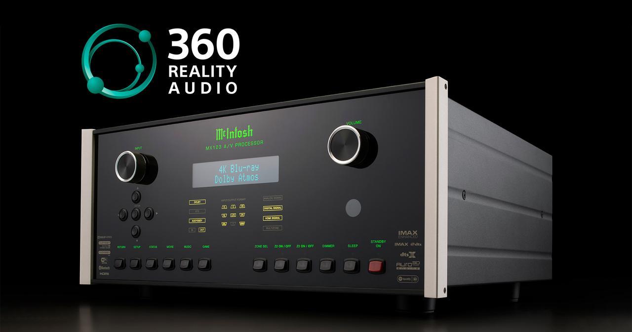 画像: MX123 A/V Processor Receives Support for Sony's 360 Reality Audio