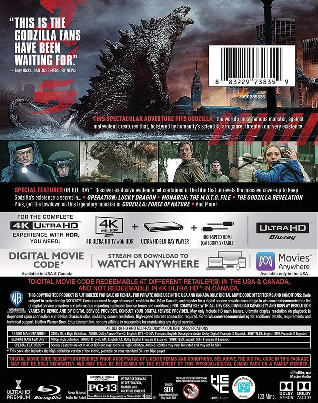 画像2: お待たせ!2014年版が4K化『GODZILLA ゴジラ』【海外盤Blu-ray発売情報】