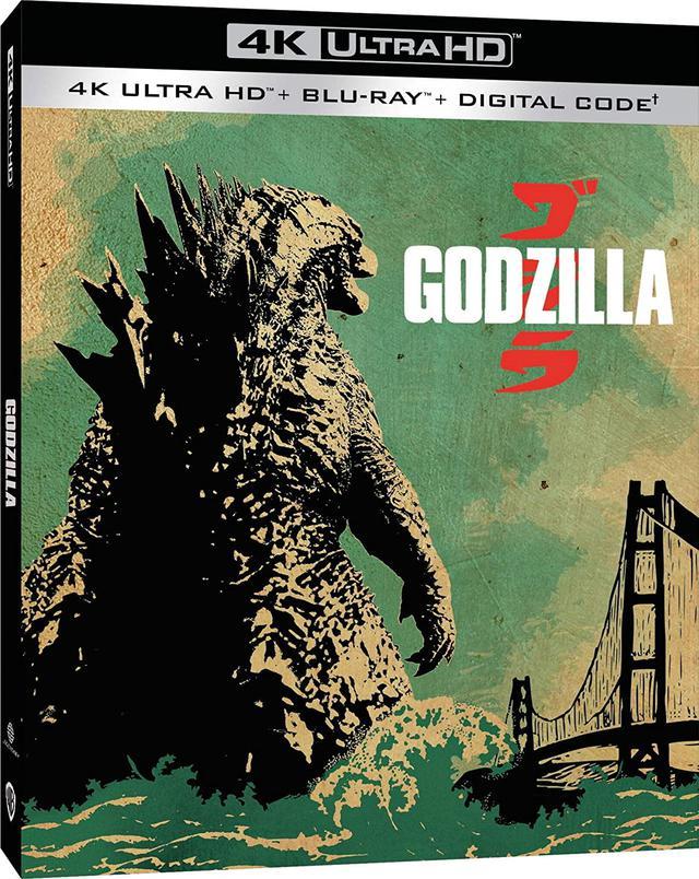 画像1: お待たせ!2014年版が4K化『GODZILLA ゴジラ』【海外盤Blu-ray発売情報】