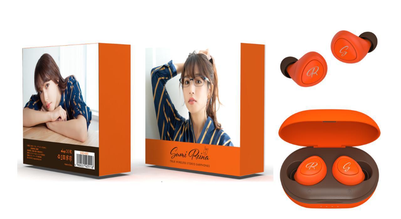 画像3: TOoKA BASE、セント・フォース・アナウンサー「新井恵理那」「岡副麻希」「鷲見玲奈」らとコラボした完全ワイヤレスイヤホンを発売