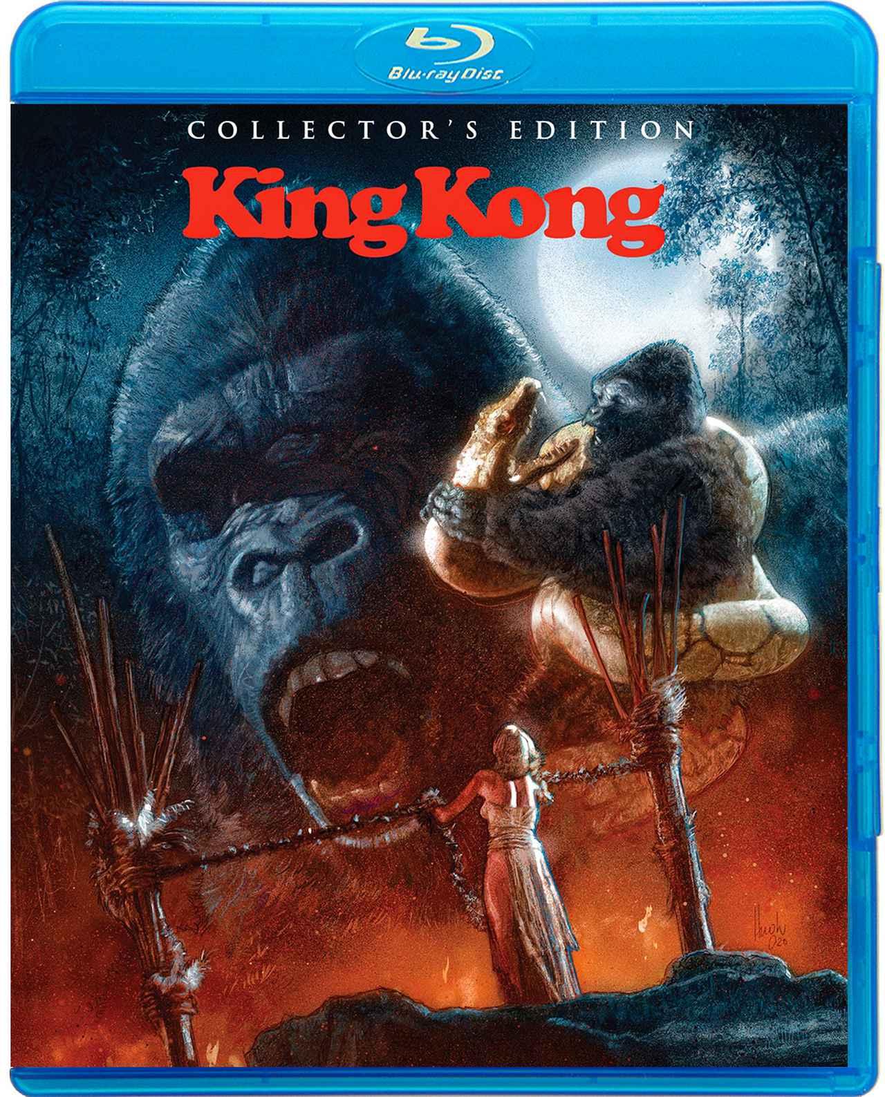 画像: 76年版が2バージョンで登場『キングコング』【海外盤Blu-ray発売情報】