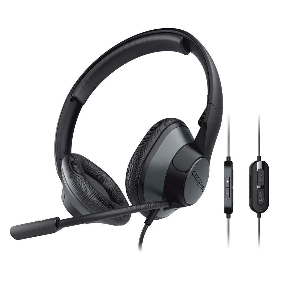 画像2: クリエイティブメディア、オンラインコミュニケーションの音質をアップしてくれるハイレゾ対応USB DAC「Sound Blaster Play! 4」、USBヘッドセット「Creative HS-720 V2」を発売