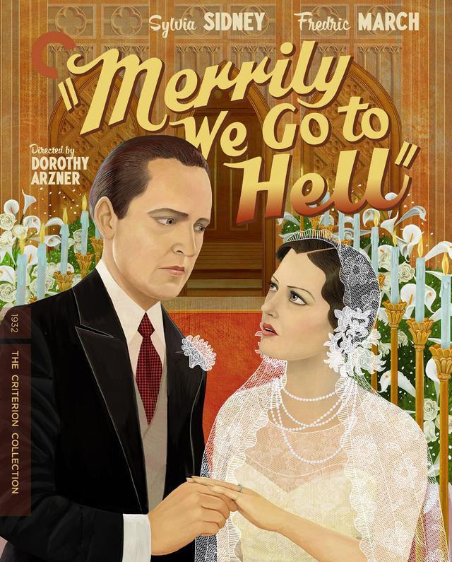 画像: 我等は楽しく地獄へ行く/5月11日リリース 1932年/監督ドロシー・アーズナー /出演シルヴィア・シドニー,  フレデリック・マーチ NEW 4K RESTORATION OF THE FILM, with uncompressed monaural soundtrack 恋に落ちて結婚した富豪の娘と新聞記者。結婚生活のスレ違いを描いたコメディ・ドラマ。