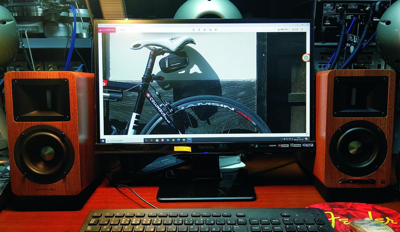 画像: 小原さんはご自宅のデスクトップ用スピーカーとしてA80を導入。詳細はHiVi2021年1月号の「from Writers」7ページを参照のこと