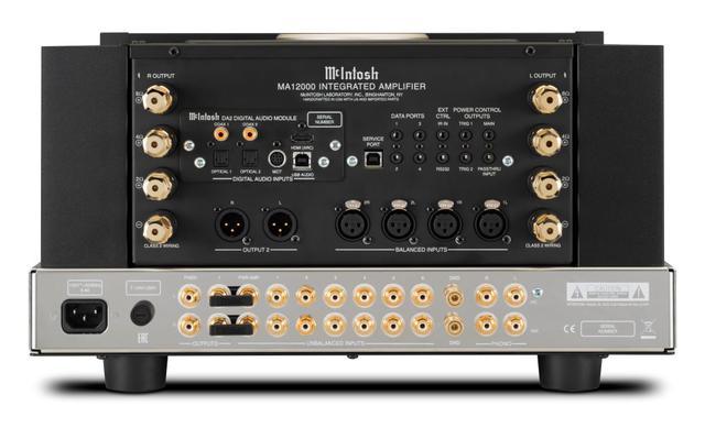 画像2: McIntosh、プリ部に「12AX7A」真空管を4使用したハイブリッド・インテグレーテッドアンプ「MA12000」を発売。デジタルコンテンツにも多彩に対応