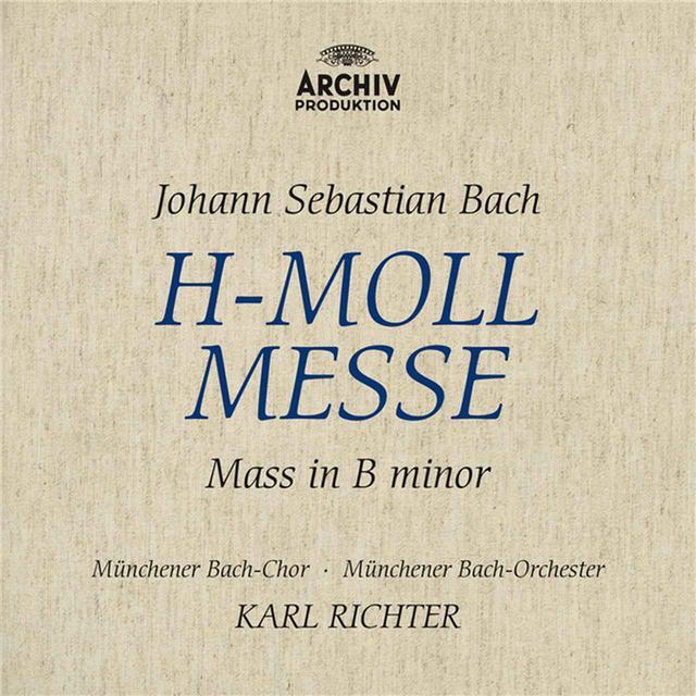 画像: J.S.バッハ:ミサ曲ロ短調 BWV232/マリア・シュターダー, ヘルタ・テッパー, エルンスト・ヘフリガー, ディートリヒ・フィッシャー=ディースカウ, ミュンヘン・バッハ管弦楽団, カール・リヒター, ミュンヘン・バッハ合唱団
