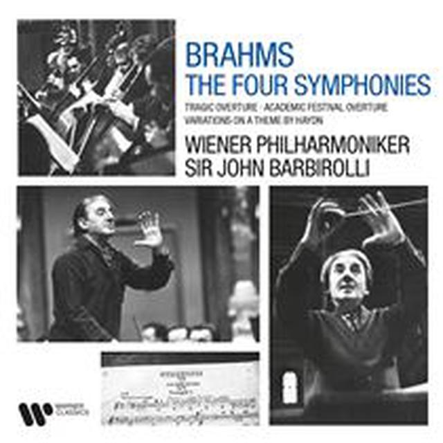画像: Brahms: Symphonies, Tragic Overture, Academic Festival Overture & Variations on a Theme by Haydn - ハイレゾ音源配信サイト【e-onkyo music】