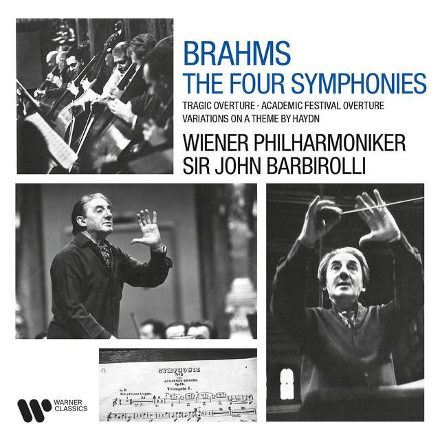 画像: Brahms: Symphonies, Tragic Overture, Academic Festival Overture & Variations on a Theme by Haydn/Sir John Barbirolli
