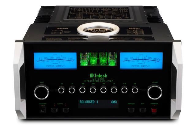 画像1: McIntosh、プリ部に「12AX7A」真空管を4使用したハイブリッド・インテグレーテッドアンプ「MA12000」を発売。デジタルコンテンツにも多彩に対応