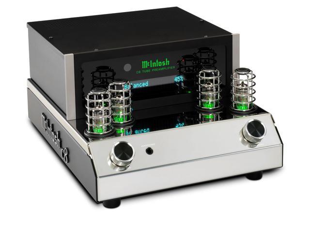 画像3: McIntosh、70周年記念モデルの性能を受け継いだ最新真空管プリアンプ「C22 V」、およびオープンデザインの「C8」を発売