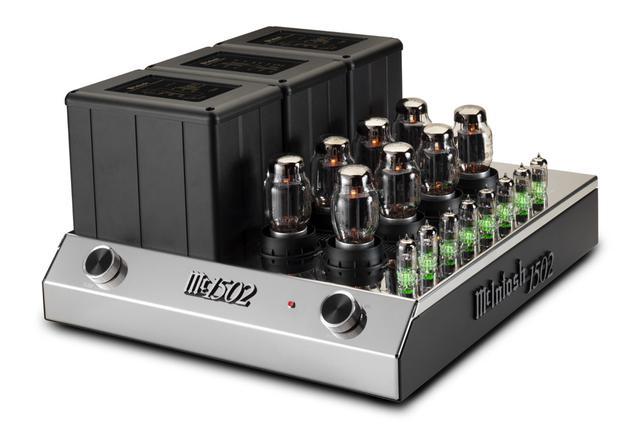画像1: McIntosh、記念モデル「MC2152」の後継となる真空管パワーアンプ「MC1502」、モノーラル仕様の半導体パワーアンプ「MC830」を発売