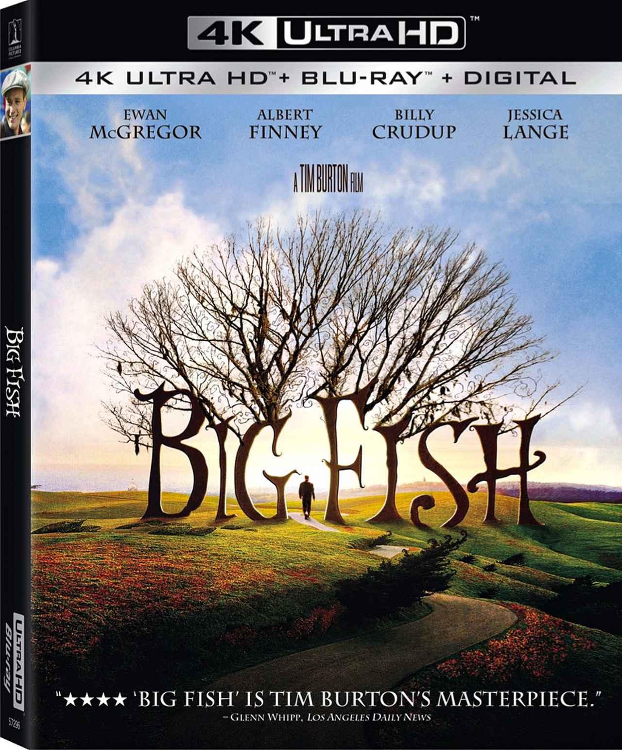 画像: ティム・バートン監督傑作ファンタジー『ビッグ・フィッシュ』【海外盤Blu-ray発売情報】