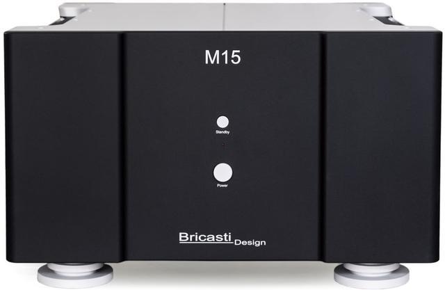 画像1: Bricasti Design、フラグシップの技術をコンパクトな筐体に詰め込んだ、ステレオ仕様のパワーアンプ「M15」を3月5日に発売。198万円!