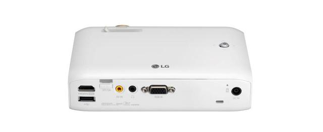 画像2: LGエレクトロニクス・ジャパン、バッテリー内蔵でどこでも使えるポータブルプロジェクター「PH510PG」を3月4日に発売