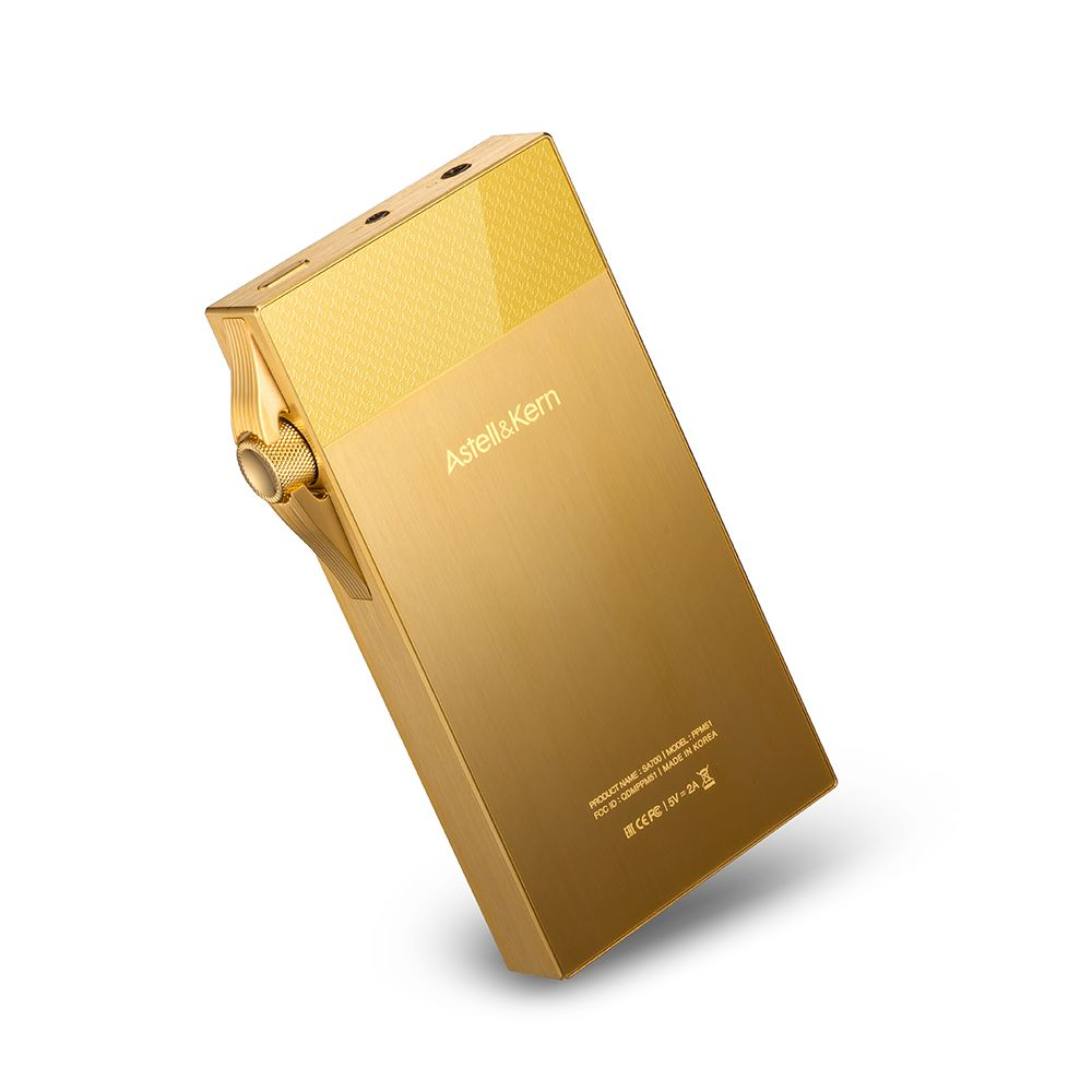 画像2: Astell&Kern、ハイレゾDAP「SA700」のゴールドバージョン「SA700 VegasGold」を3月12日に発売。国内200台限定。149,980円