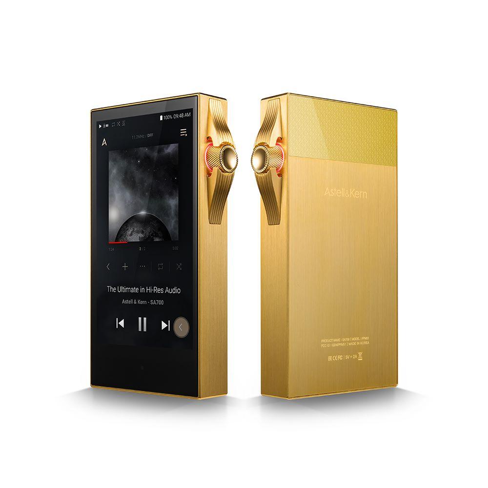画像1: Astell&Kern、ハイレゾDAP「SA700」のゴールドバージョン「SA700 VegasGold」を3月12日に発売。国内200台限定。149,980円