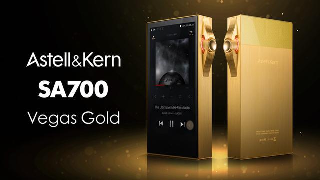 画像: ブランドヘリテージを再解釈した 「SA700」のリミテッドカラーモデル 『SA700 Vegas Gold』を発売|Astell&Kern
