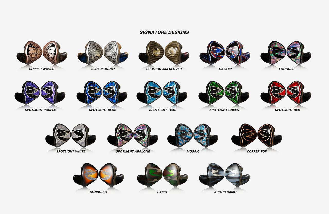 画像1: Jerry Harvey Audio、カスタムインイヤーモニター「Contour XO」「JH7」「AFR」を発売。併せて一部製品のオプション変更とデザインも一新