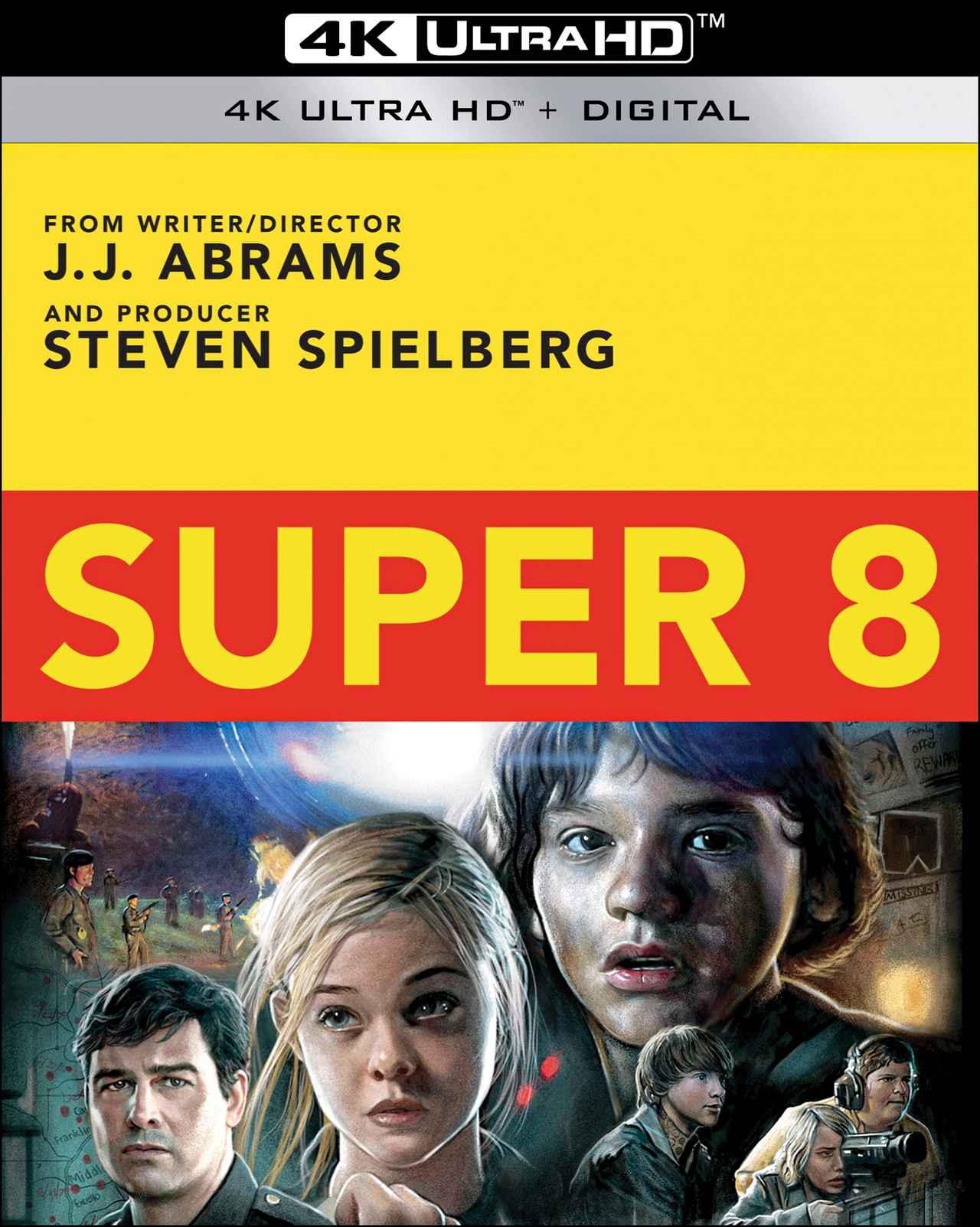 画像2: スピルバーグ × J・J 初コラボSF『SUPER 8/スーパーエイト』【海外盤Blu-ray発売情報】