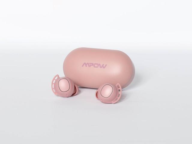 画像2: MPOW、人気の完全ワイヤスイヤホンのバッテリーを強化した上位モデル「M30 PLUS」を3月4日に発売。現行モデルの特別カラー「M30 Pink」も同時発売