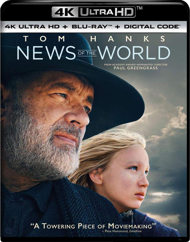 画像1: トム・ハンクス主演ウエスタン『この茫漠たる荒野で』【海外盤Blu-ray発売情報】