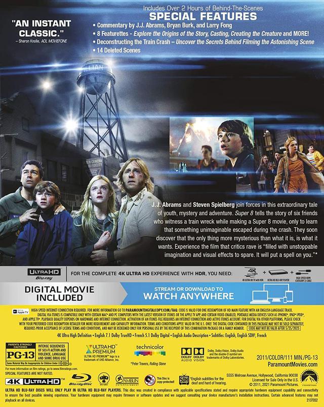 画像3: スピルバーグ × J・J 初コラボSF『SUPER 8/スーパーエイト』【海外盤Blu-ray発売情報】