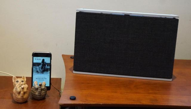 画像2: リモートワークも、いい音と一緒なら快適。Bang & Olufsenのワイヤレススピーカー「Beosound Level」は、真剣な音楽鑑賞もBGMも十全に楽しめる魅惑のアイテムだ