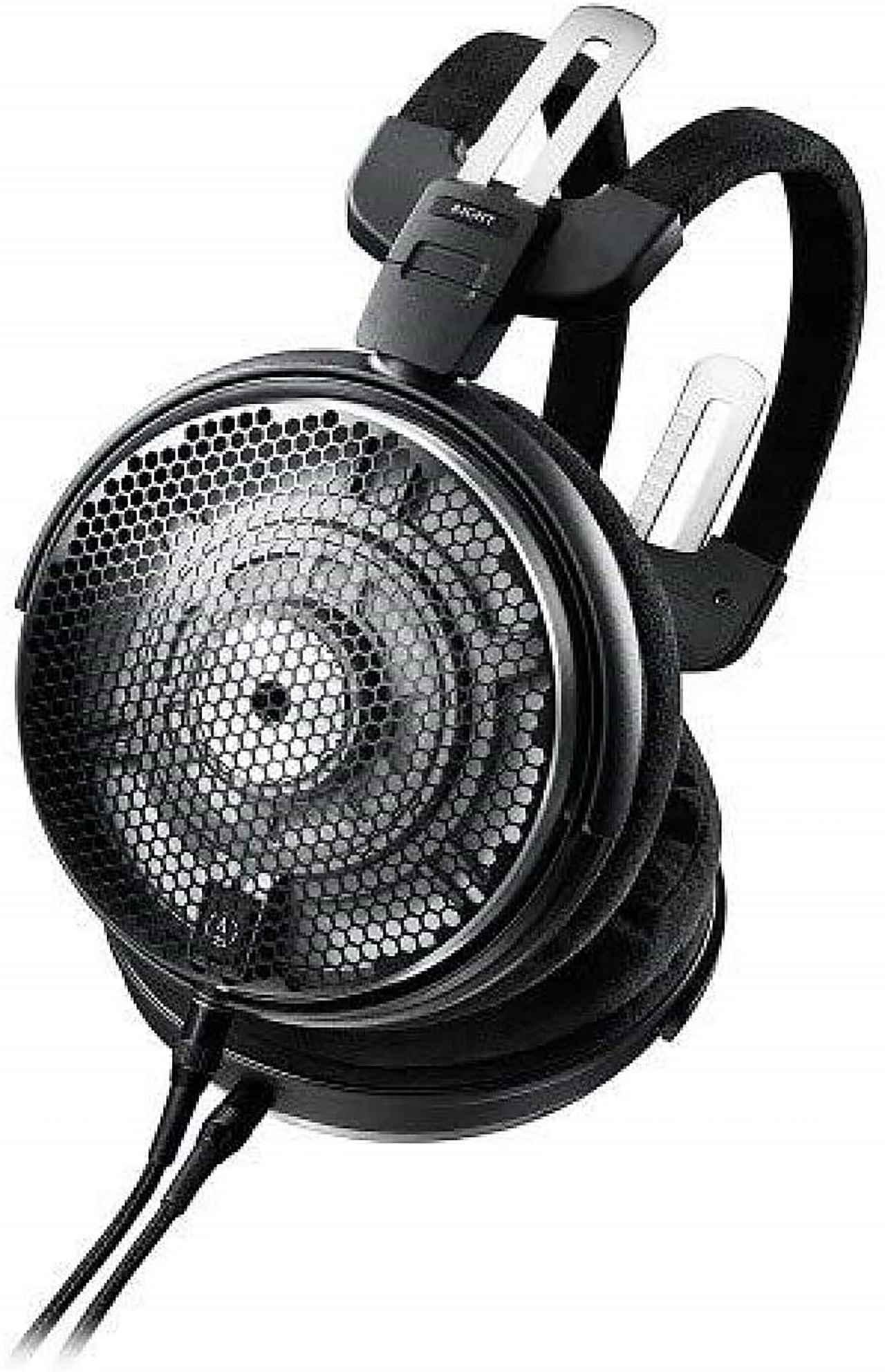 画像: 試聴に使用したヘッドフォン オーディオテクニカ ATH-ADX5000 オープン価格(実勢価格24万円前後) 試聴に使用したヘッドフォンケーブル AT-B1XA/3.0 オープン価格(実勢価格3万9800円前後)