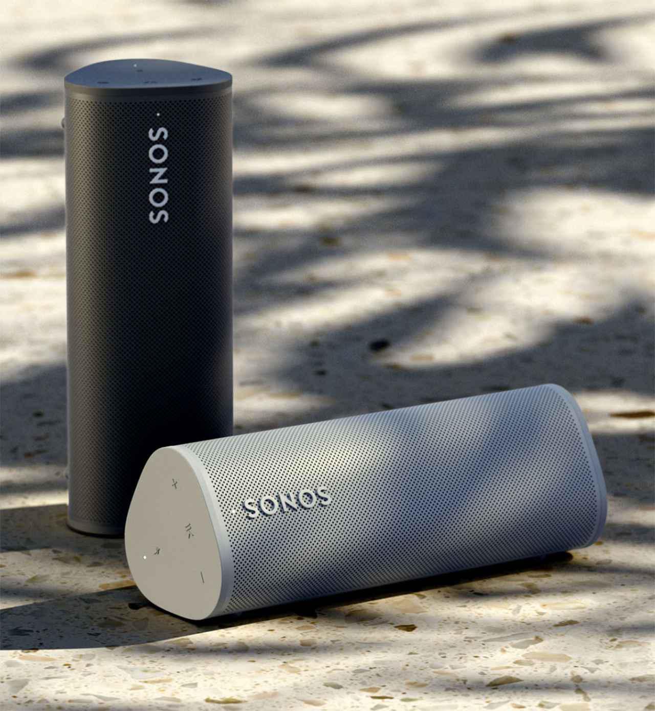 画像1: SONOSの小型ワイヤレススピーカー「Roam」は、日本で今夏発売。あらゆる場所で極上の音楽体験を実現できる魅力的なポータブルスピーカー
