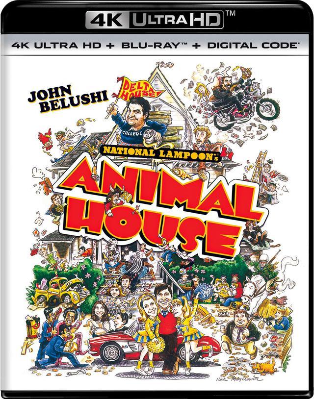 画像2: ユニバーサル4Kメガヒット劇場『スティング』『アニマル・ハウス』【海外盤Blu-ray発売情報】