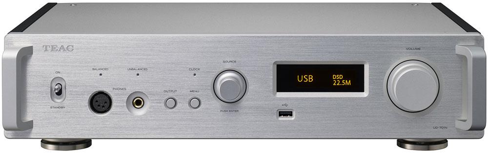 画像1: ティアック、フルサイズコンポ機のネットワークプレーヤー「UD-701N」、およびパワーアンプ「AP-701」を発売