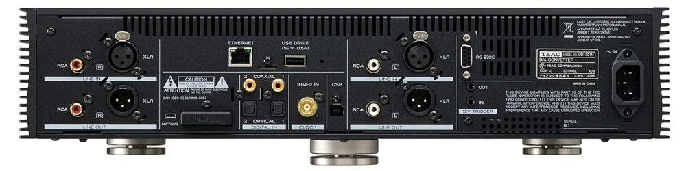 画像2: ティアック、フルサイズコンポ機のネットワークプレーヤー「UD-701N」、およびパワーアンプ「AP-701」を発売