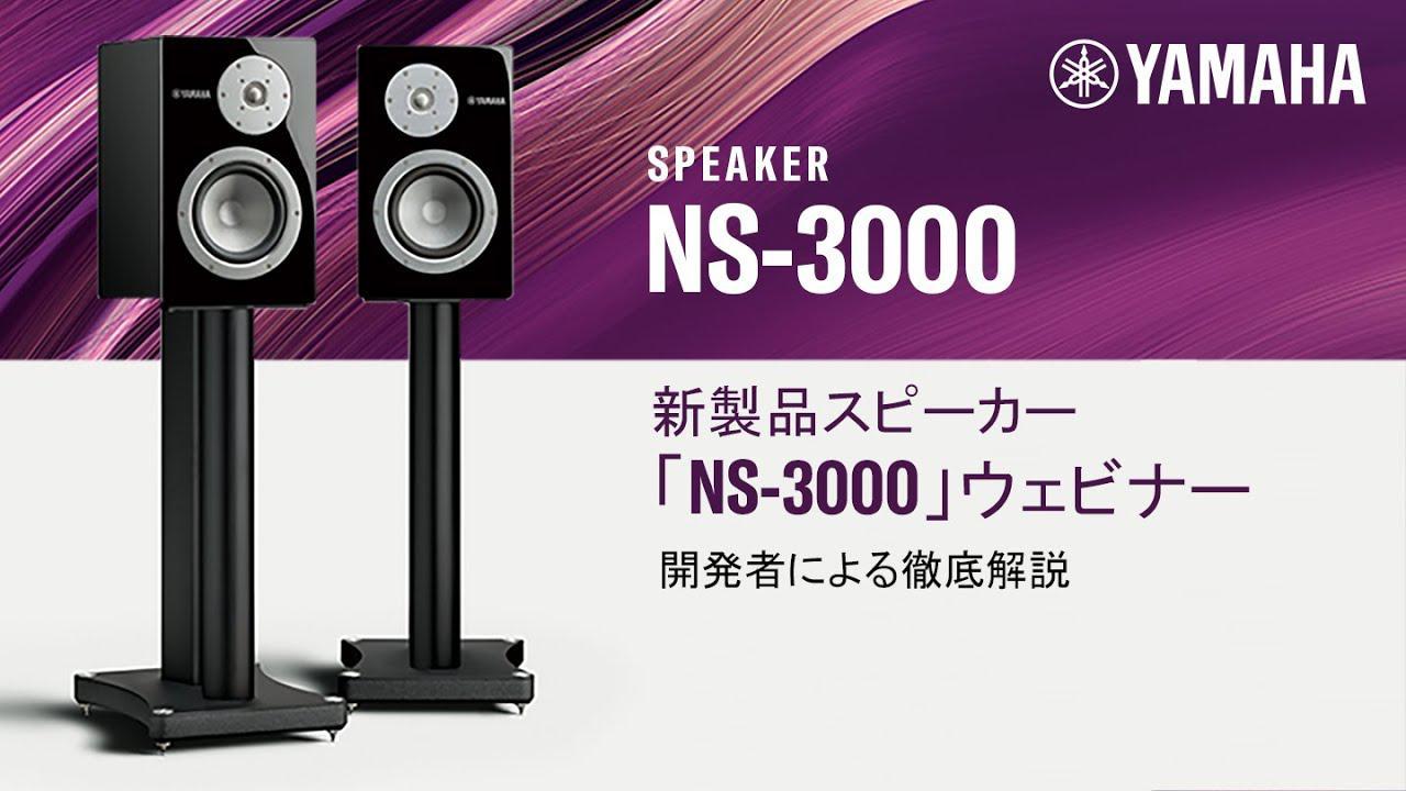 画像: スピーカー「NS-3000」徹底解説ウェビナー【開発者が語る】 www.youtube.com