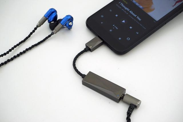 画像: Acoustuneのダイナミック型イヤホンHS1300SSを使ってAmazon Music HDのハイレゾ音源を再生した。スマホをソース機器にしているとはちょっと思えない高解像度サウンドが聴けた