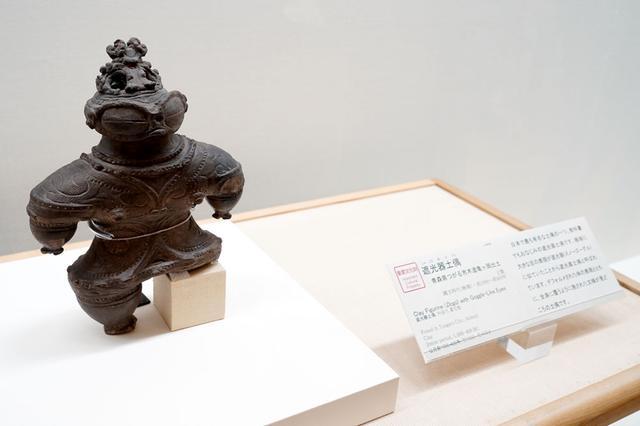 画像: ▲重要文化財「遮光器土偶」の本物