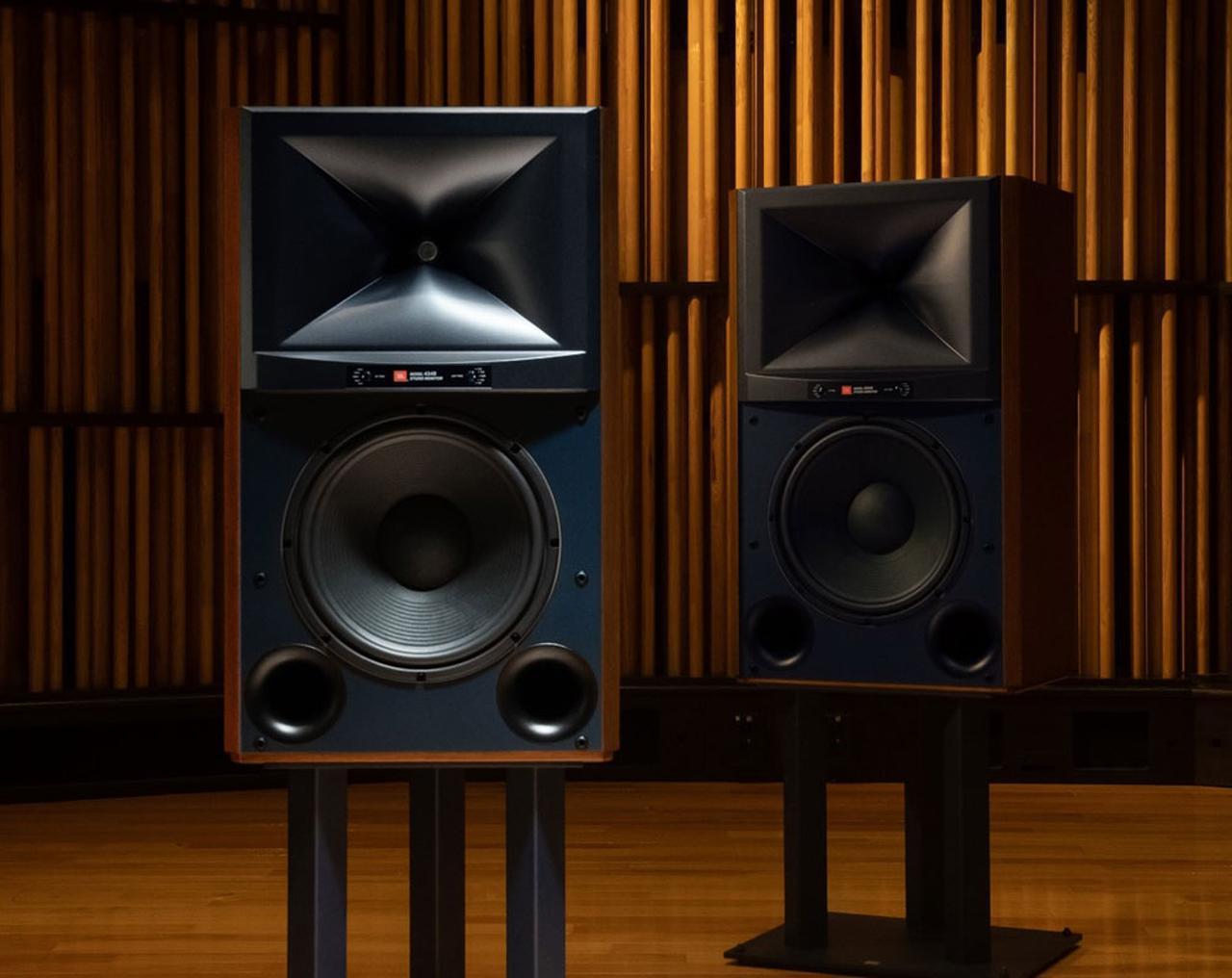 画像: JBL伝統のスタジオモニターシリーズの最新作「JBL 4349」、10月初旬に登場。価格は80万円(ペア、税別) - Stereo Sound ONLINE