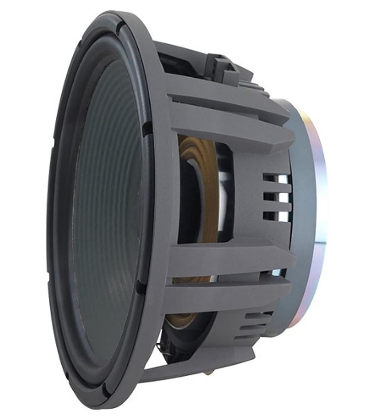 画像: 歴代のミドルサイズ・スタジオモニター搭載の1200FE系ユニットの伝統を継承し、さらに改良を施したウーファーがJW300PG-8。レスポンスのよさと超低歪特性を両立している