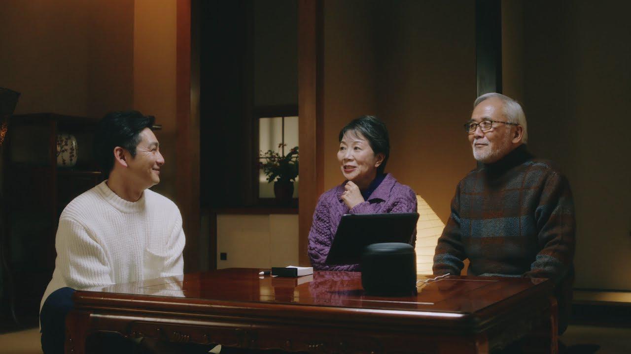 画像: Amazon Echo Show 10「祖父母編」 www.youtube.com
