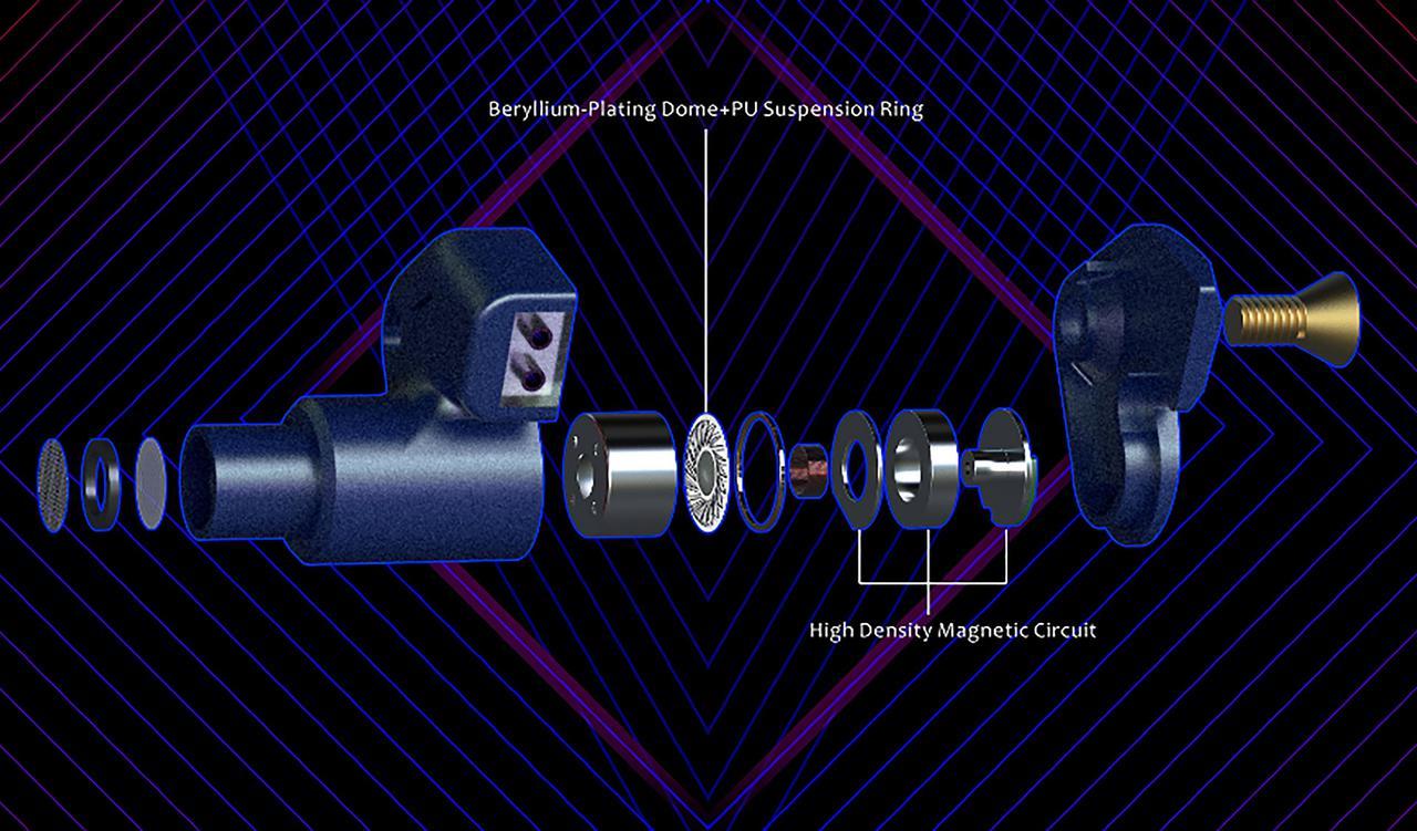 """画像2: 水月雨、リケーブル対応のカナル型イヤホン「SSP」を発売。リキッドメタルを採用したハウジングの安定性は""""水月雨史上最強"""""""