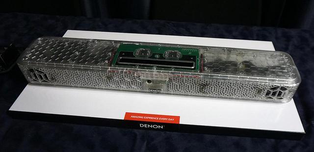 画像4: いい音を知っている日本人のためのサウンドバー、デノン「SB 550」が5月下旬に発売。音楽から映画、ゲームまで、すべてを一台で楽しめるハイエンドモデルを目指した