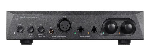 画像1: ハイスペック&省スペース、デスクトップオーディオに最適な2モデル オーディオテクニカ ヘッドホンアンプとD/Aコンバーター