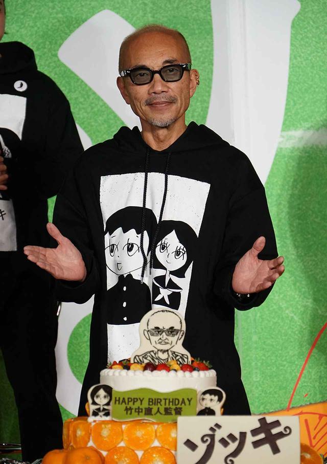 画像: 竹中さんにサプライズバースデーケーキが準備されていた