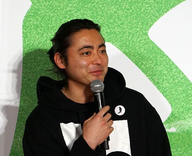 画像: 山田さんも蒲郡の皆さんへの感謝を述べていた