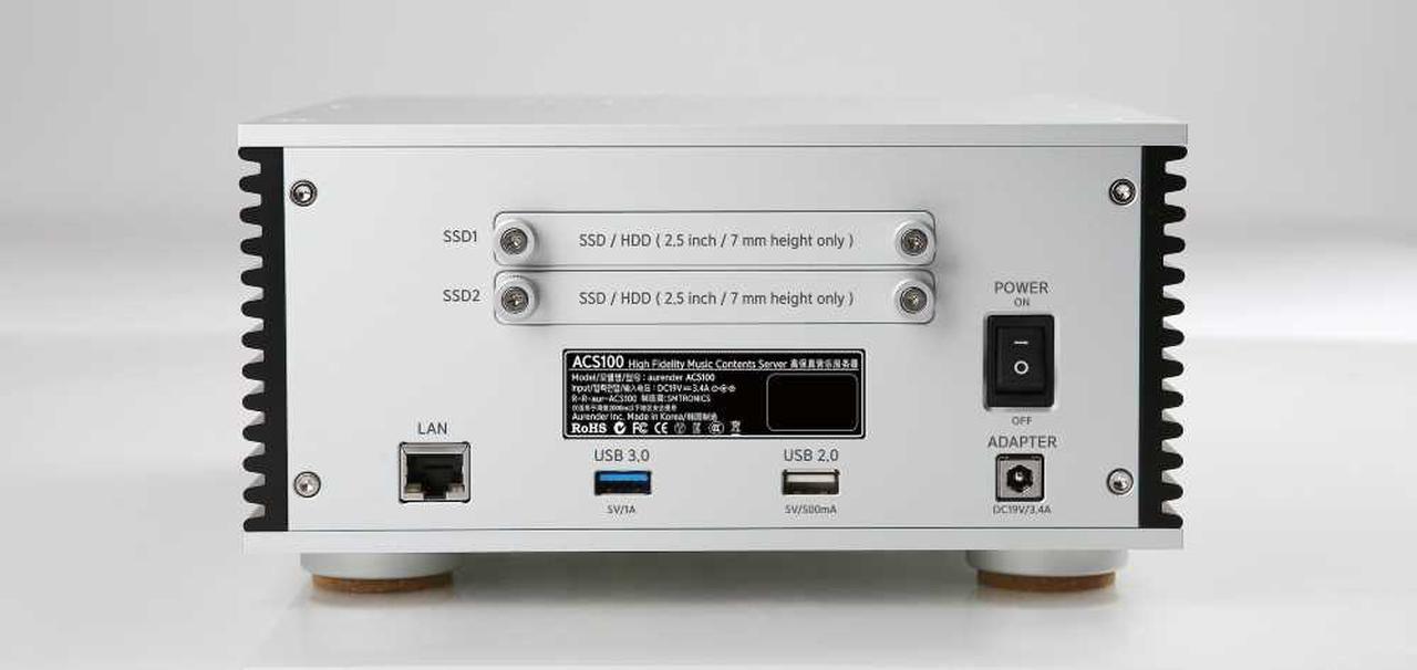 画像: ▲リアにはストレージ増設用の2.5インチべイがあり、2.5インチ仕様のHDD、もしくはSSDを2基、増設可能だ