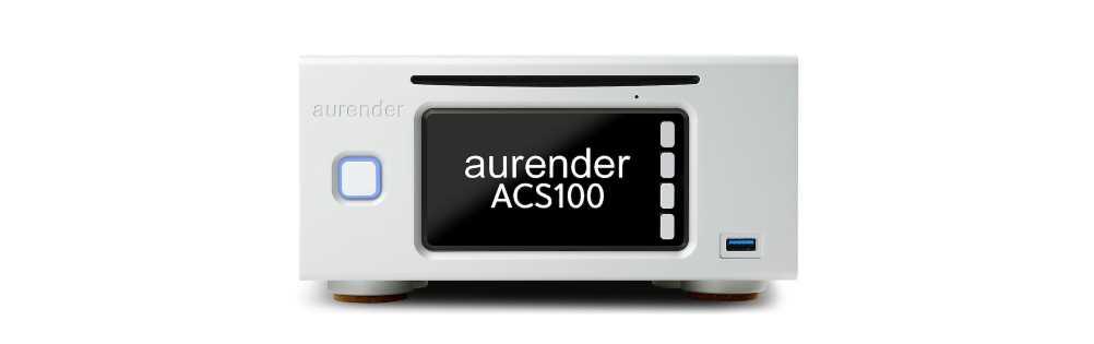 画像1: Aurender、ハーフコンポサイズのCDリッピングサーバー「ACS100」を本日、3月26日に発売。ストレージは別売り